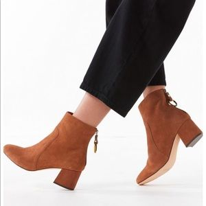 Urban Outfitters Harlow Suede Brown Boots
